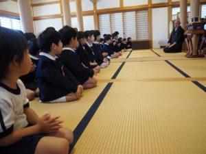 3学期始業式/お茶会(長)
